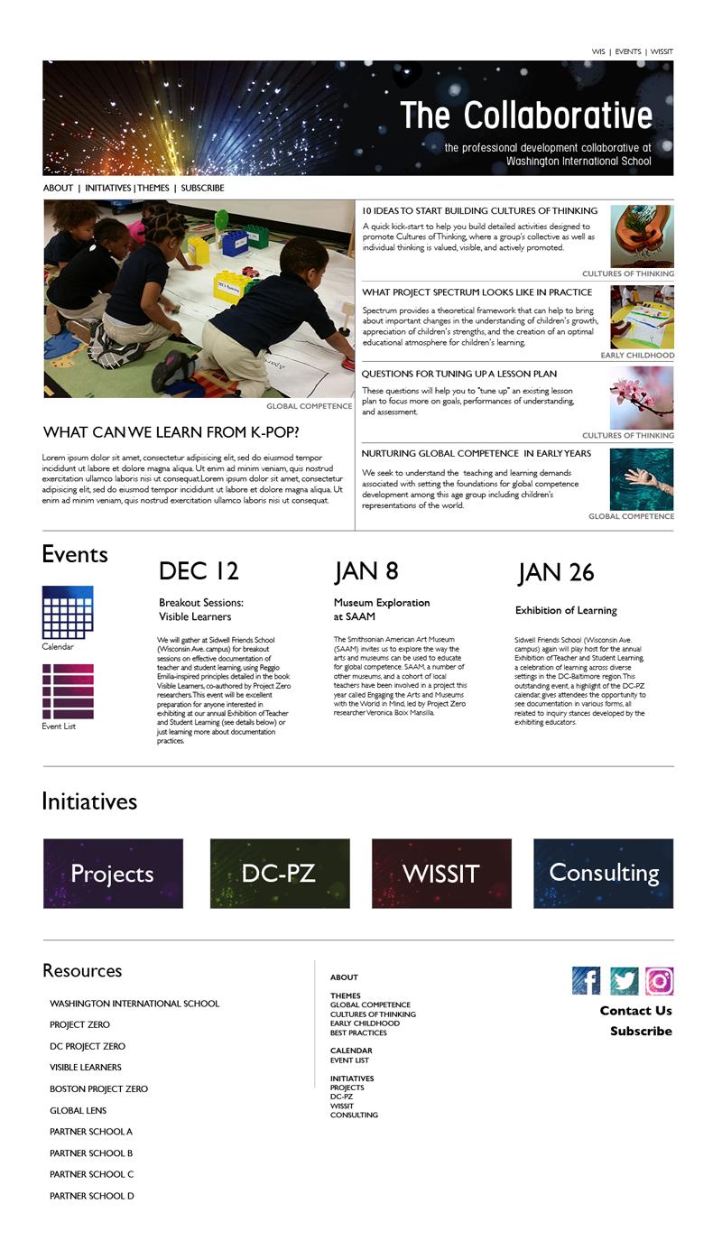Homepage Mockup1